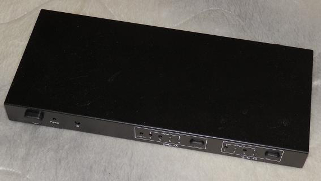 マトリックス型HDMIセレクター