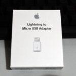 iPhoneをMicroUSBで充電