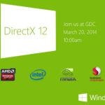Direct X12、正式発表