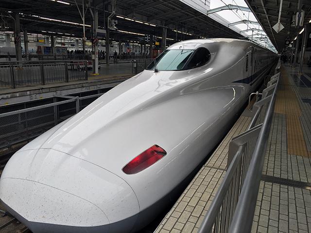 新大阪駅に到着してからの一枚