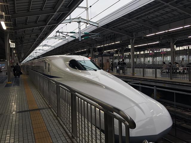 新大阪始発の東京行き