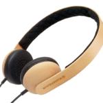 木製ヘッドフォン