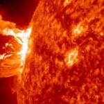 太陽フレアの影響