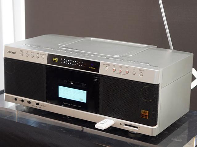 懐古的デバイス搭載のハイレゾ対応機