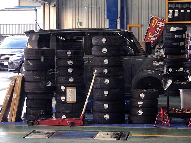 タイヤのみ入れ替えの交換